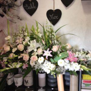 Fleurs pour Dessus de Cercueil